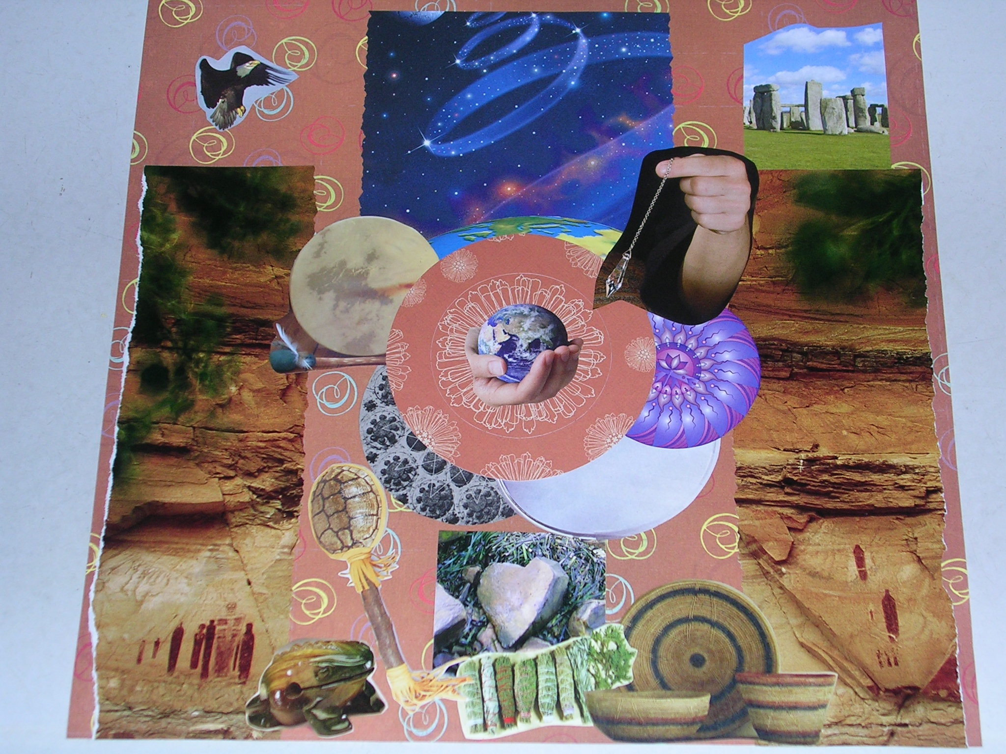 Sacred Space Collage